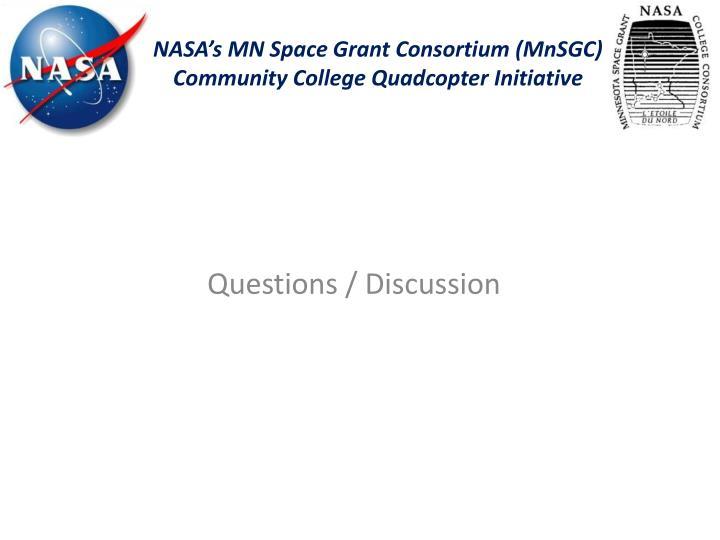 NASA's MN Space Grant Consortium (