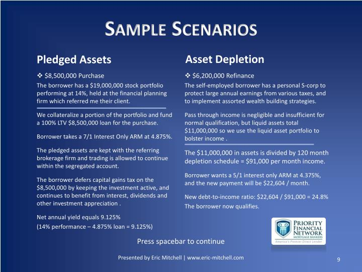 Sample Scenarios