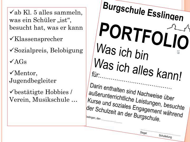 Burgschule Esslingen