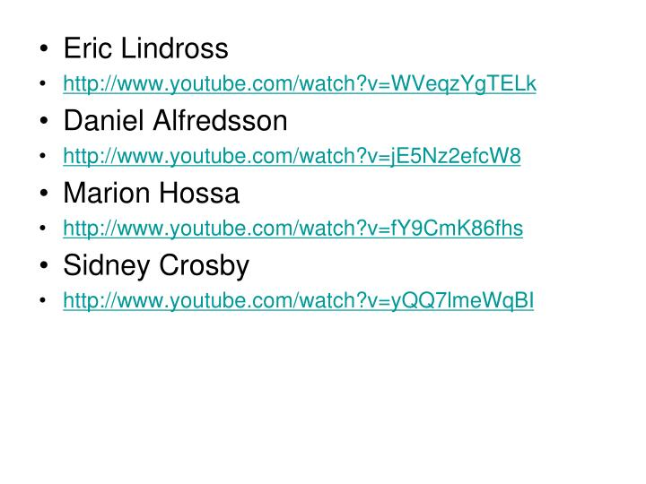 Eric Lindross