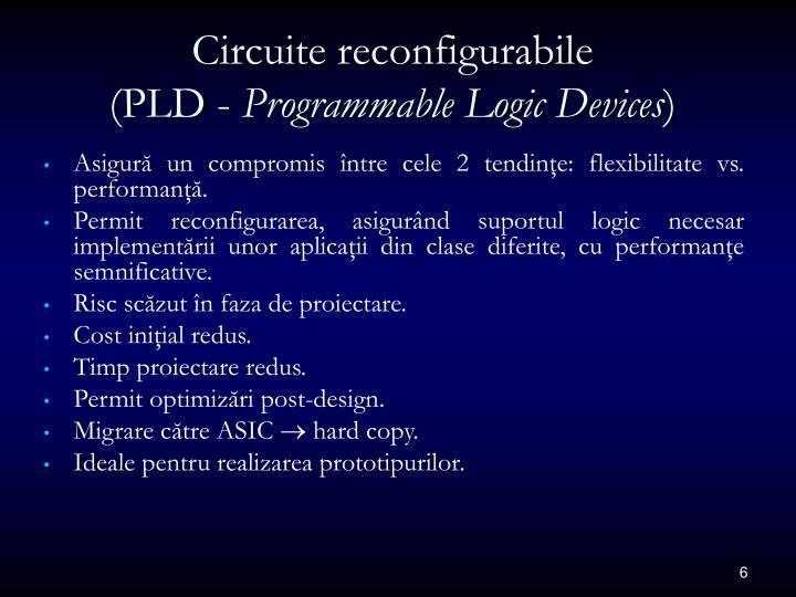 Circuite reconfigurabile
