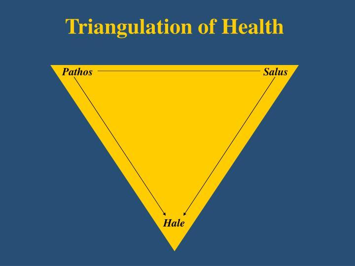 Triangulation of Health
