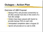 outages action plan