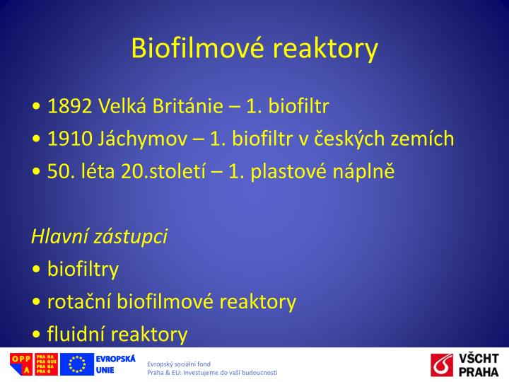 Biofilmové
