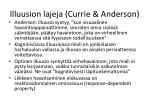 illuusion lajeja currie anderson