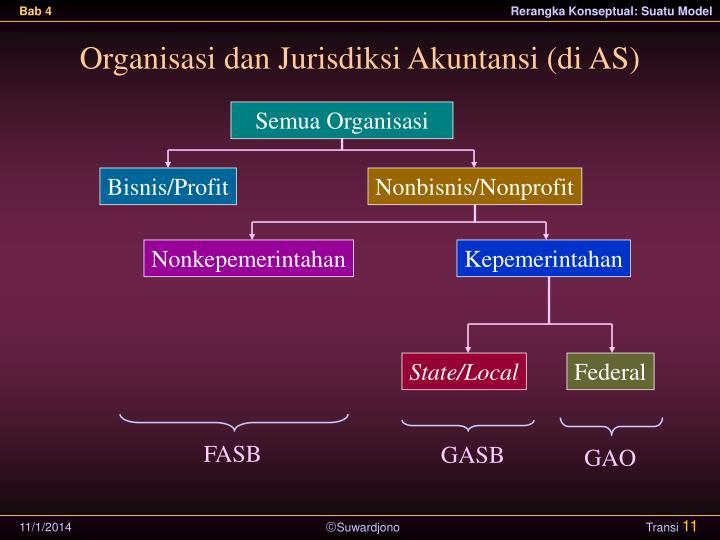Organisasi dan Jurisdiksi Akuntansi (di AS)