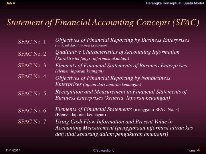 Statement of Financial Accounting Concepts (SFAC)