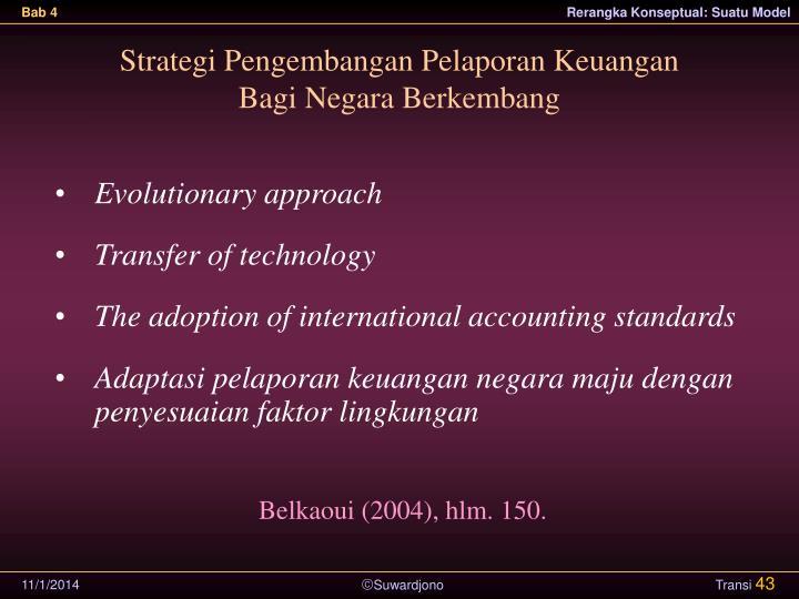 Strategi Pengembangan Pelaporan Keuangan