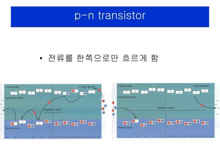 p-n transistor