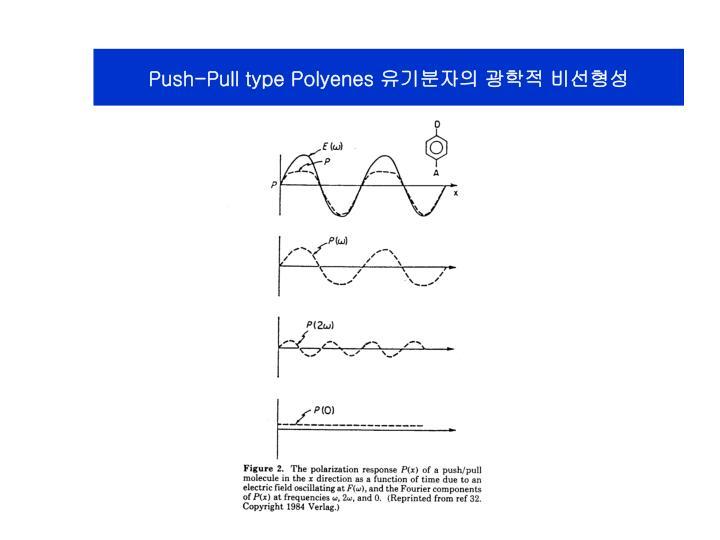 Push-Pull type Polyenes