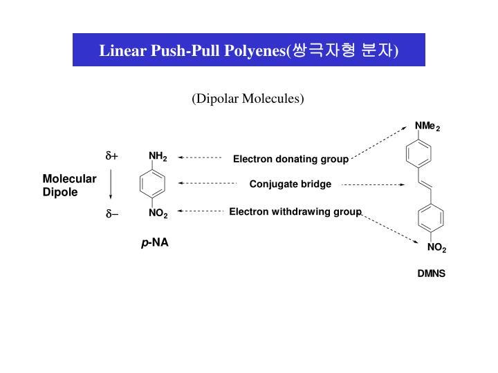Linear Push-Pull Polyenes(