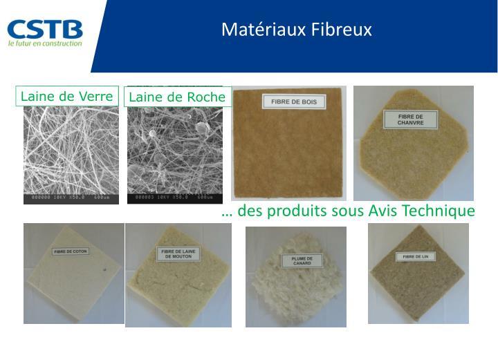 Matériaux Fibreux