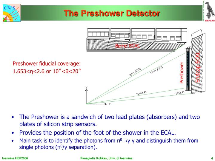 The Preshower Detector