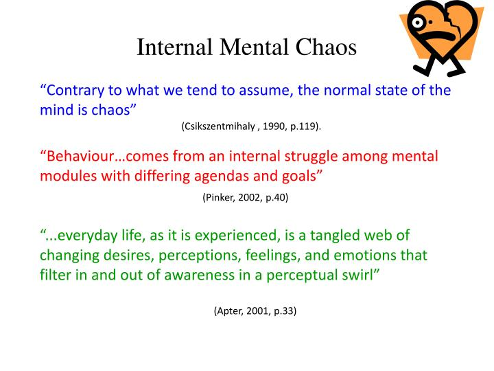Internal Mental Chaos