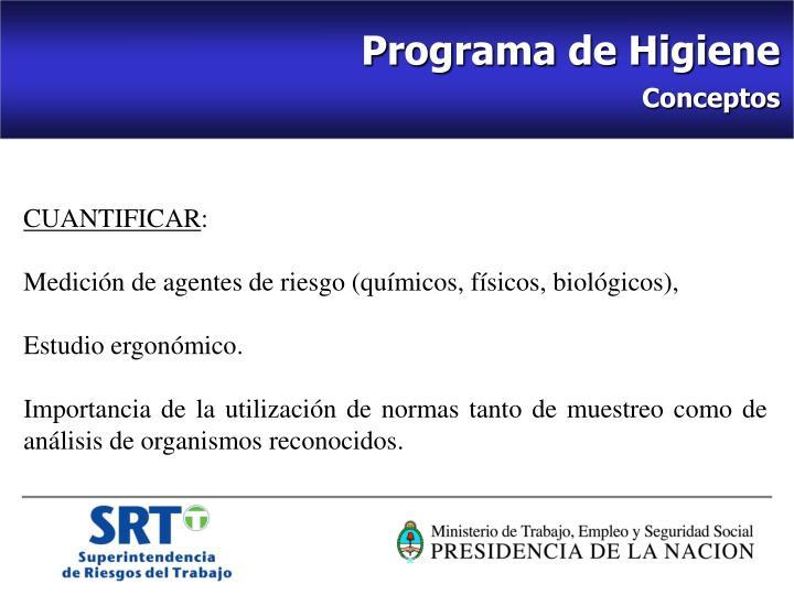 Programa de Higiene