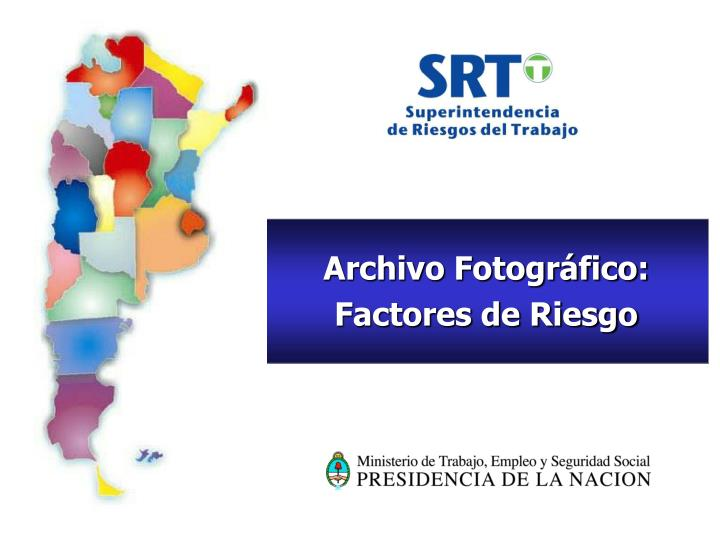 Archivo Fotográfico: Factores de