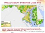 overall stability of resource lands 2012