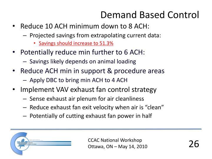 Demand Based Control