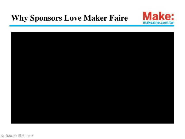 Why Sponsors Love Maker Faire
