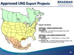 approved lng e xport p rojects