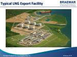 typical lng export facility