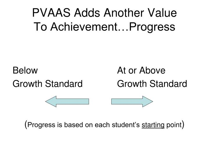 PVAAS Adds Another Value