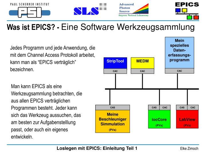 Was ist EPICS? -