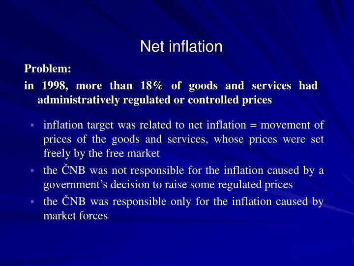 Net inflation