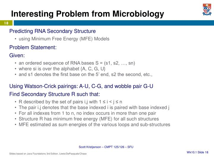 Interesting Problem from Microbiology