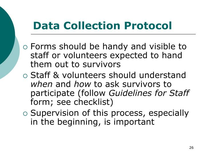 Data Collection Protocol