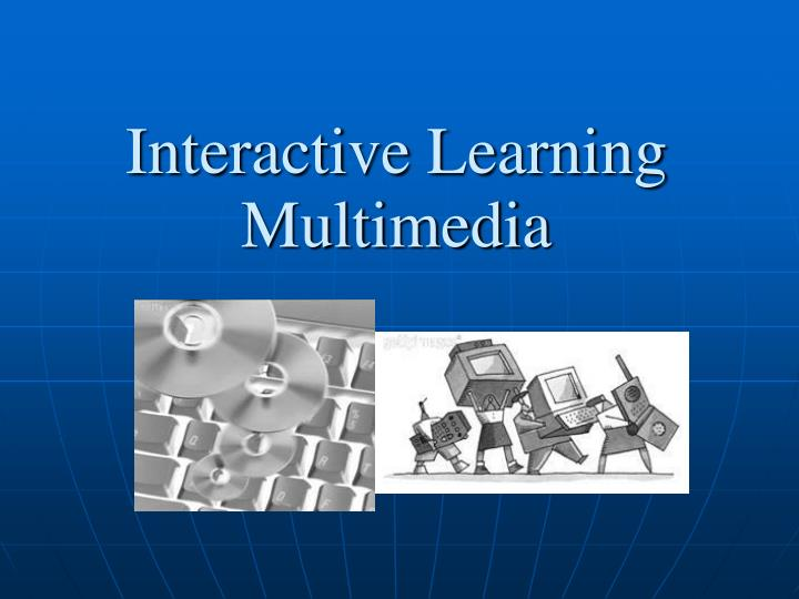 Interactive learning multimedia