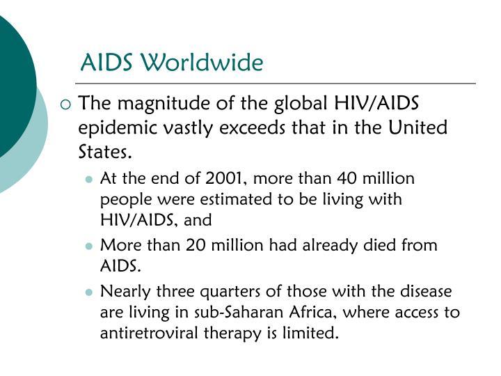 AIDS Worldwide