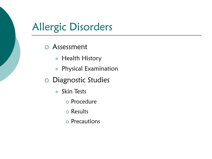 Allergic Disorders