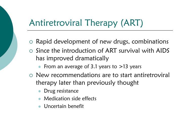 Antiretroviral Therapy (ART)