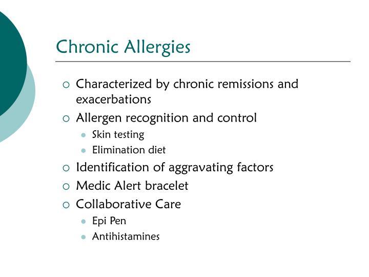 Chronic Allergies
