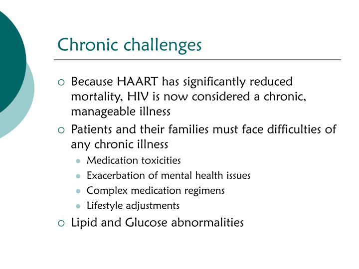 Chronic challenges