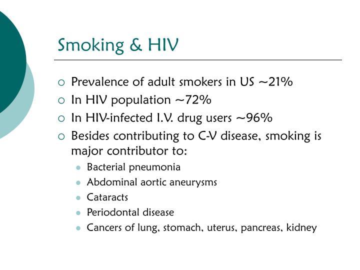 Smoking & HIV
