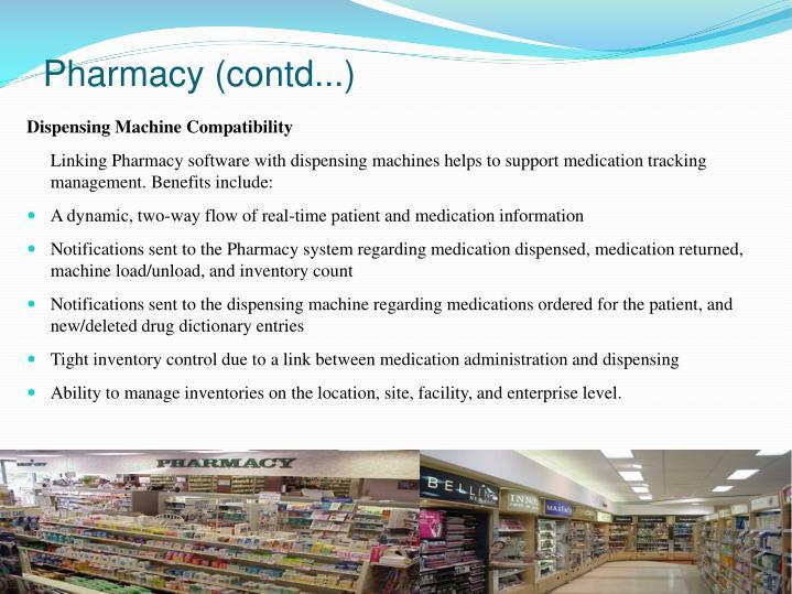 Pharmacy (contd...)