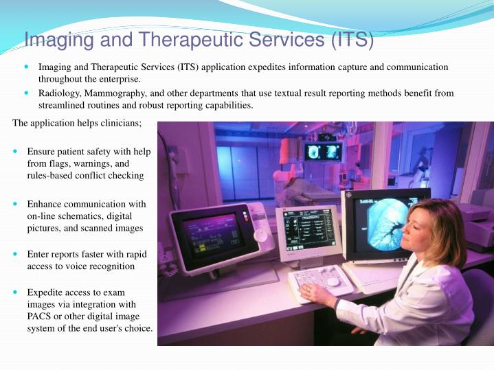 Imaging and Therapeutic Services (ITS)