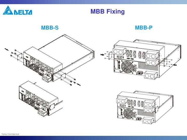 MBB Fixing