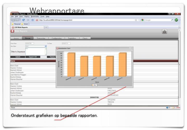 Webrapportage