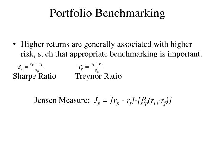 Portfolio Benchmarking