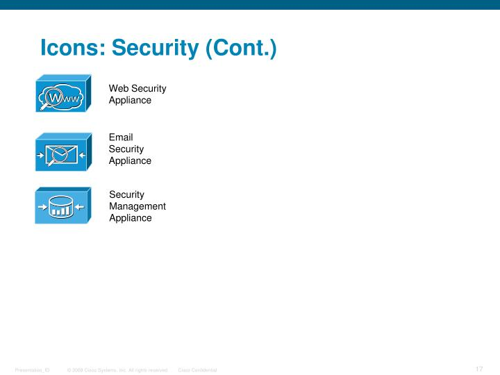 Icons: Security (Cont.)