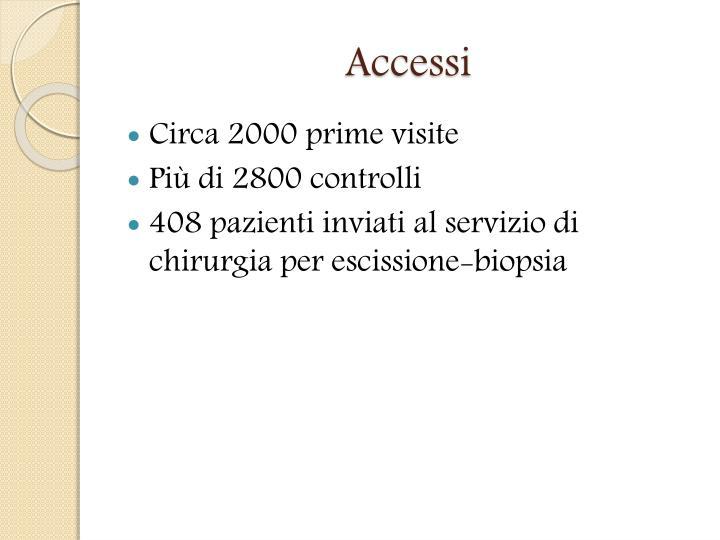 Accessi