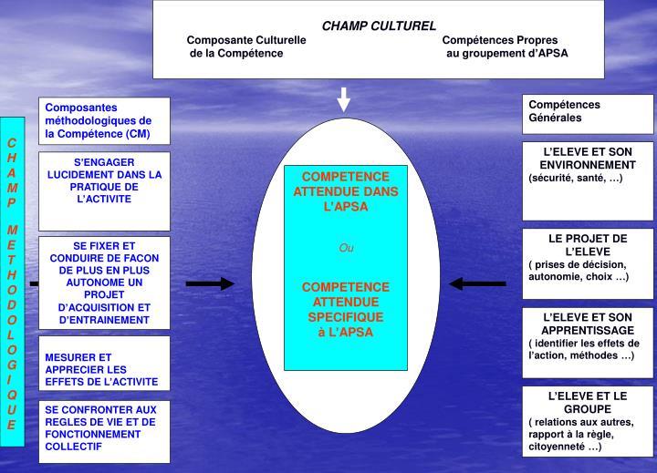 CHAMP CULTUREL