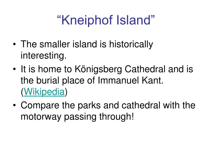 """Kneiphof Island"""