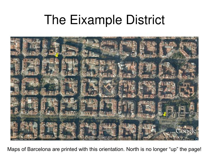 The Eixample District