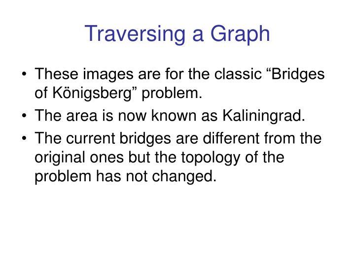 Traversing a Graph