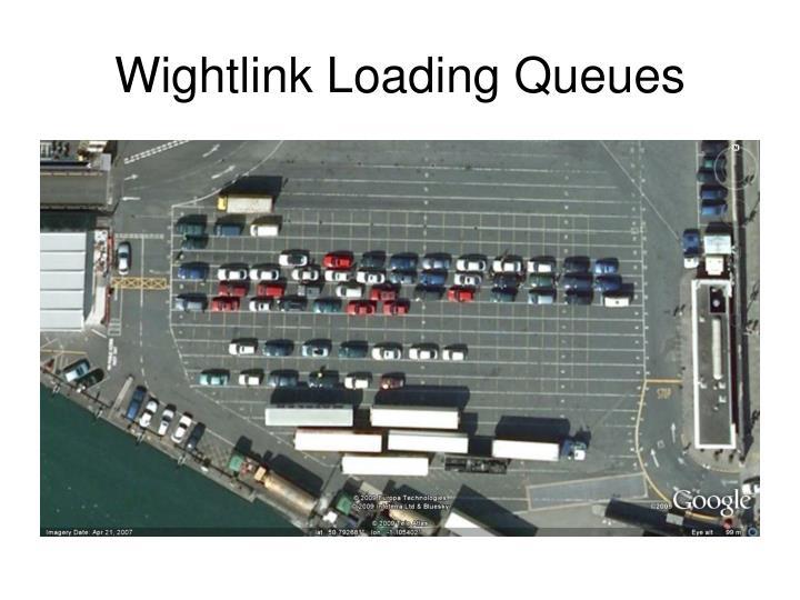 Wightlink Loading Queues