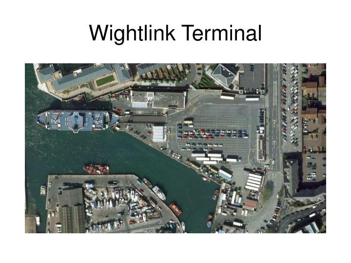 Wightlink Terminal